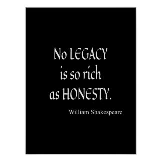 Image Gallery honesty poster
