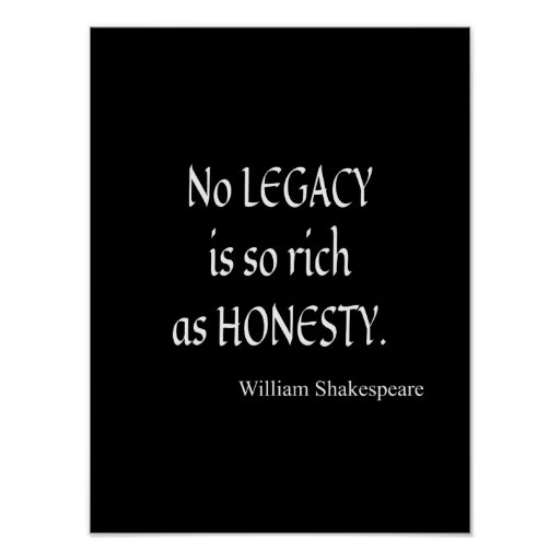 honesty is the best policy essay by ali hassan arzoo knowledge  shakespeare quotation no legacy is so rich as honesty