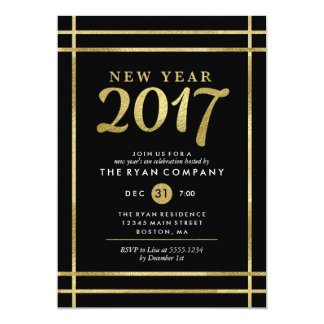 New Year 2017 Eve Party Invitations & Announcements | Zazzle