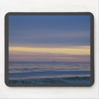 Ship Lost At Sea mousepad