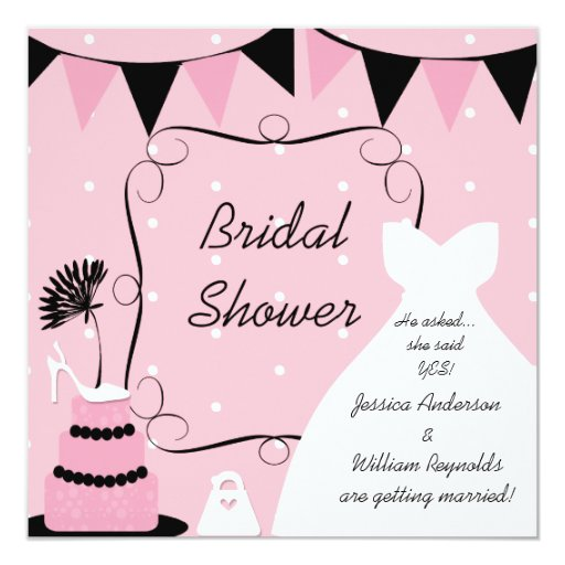 Wedding Invitation Thoughts: Shoe For Thought Bridal Shower Invitation