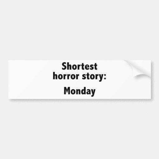 Second shortest horror story / The killing season 3 episode