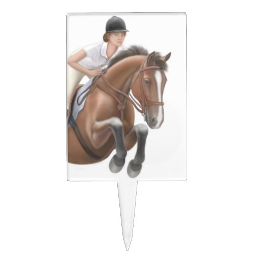Equestrian Cake Toppers