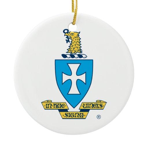 Company Logo Christmas Ornaments: Sigma Chi Crest Logo Christmas Ornament