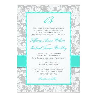 Turquoise Wedding Invitations & Announcements | Zazzle