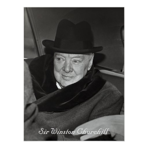 Winston Churchill Victory Quote: Sir Winston Churchill Posters