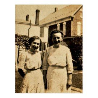 Sisters at Home, circa 1900