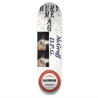 SKATEBOARD McGRUFF D.P.G. SLACKERLINE