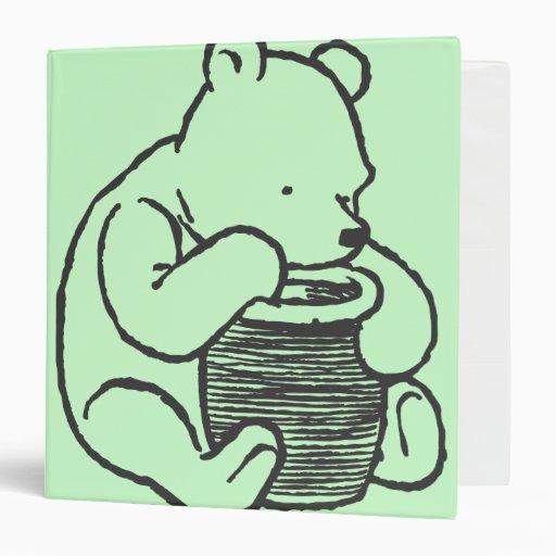 Sketch Winnie The Pooh 3 Binder