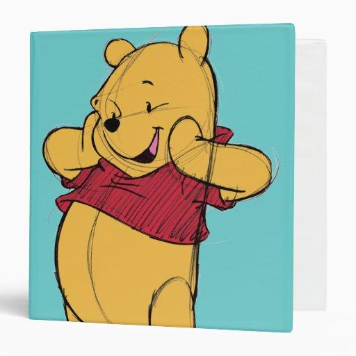 Sketch Winnie The Pooh Binder