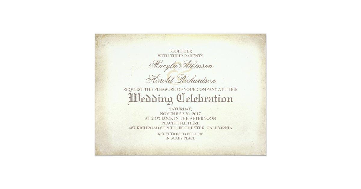 Day Of The Dead Wedding Invitations: Skull Couple Day Of The Dead Wedding Invitations