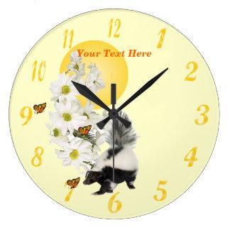 Daisy Clocks Daisy Wall Clock Designs