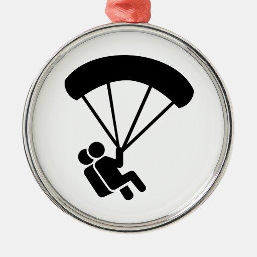 Skydiving tandem ornament