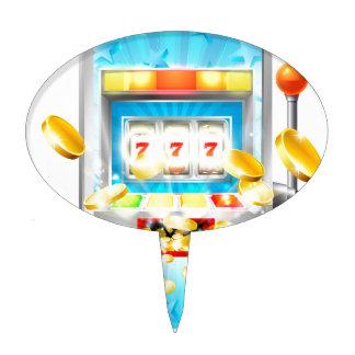 Slot Machine Cake Topper