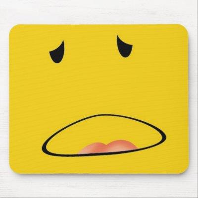 Feeling Sick Emoticon