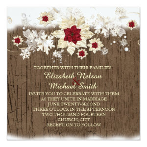 Christmas Wedding Invitations Custom Wedding Invitations Online