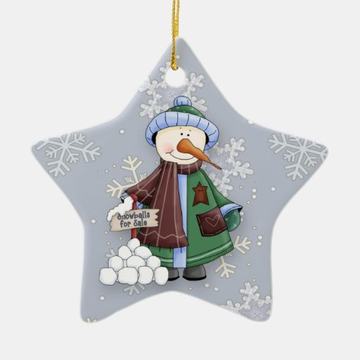 Snowballs For Sale Christmas Tree Ornament