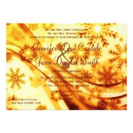 dc907c94be67 Christmas Wedding Invitations - Rustic Country Wedding Invitations