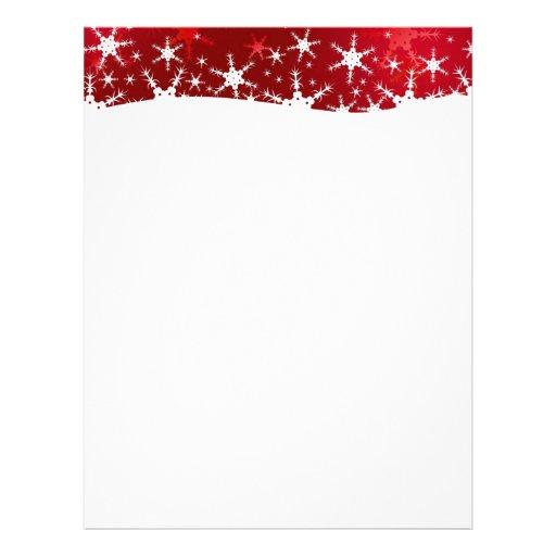 Christmas Letterhead, Custom Christmas Letterhead Templates