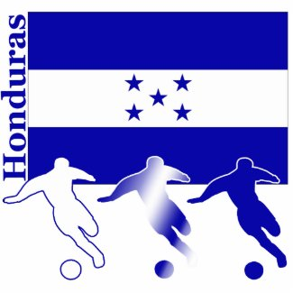 Soccer Honduras Photo Sculpture