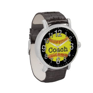 Softball Coach Gift Ideas, Cool Softball Watches