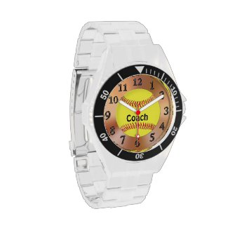 Softball Coach Gift Ideas Softball Watch w/ NAME
