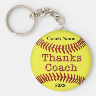 Softball Coach Gifts Ideas with NAME and YEAR