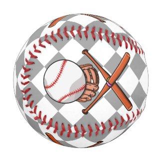 Baseball or Softball Pirate Flag Inspired Design - tiki graphics