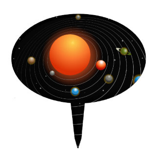 solar system cake toppers - photo #16