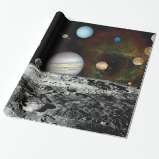 Solar System Wrapping Paper | Zazzle