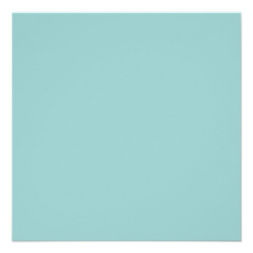 Solid Color Light Blue 99CCCC Background Invite. 5.25 ...