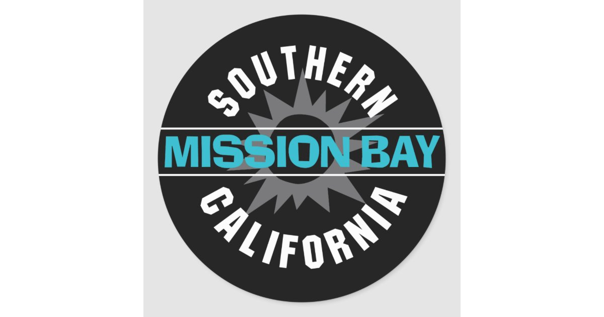 Southern California Classic: Mission Bay Classic Round Sticker
