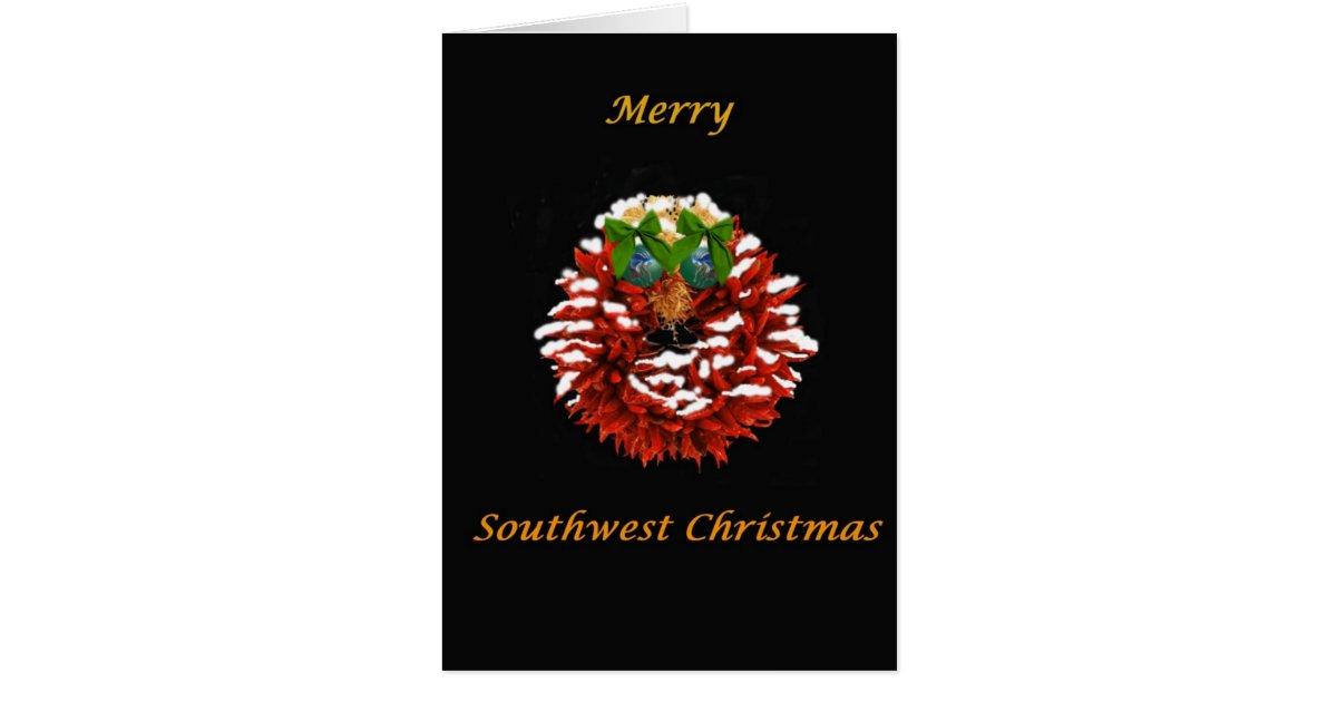 Southwest Christmas Card Zazzle