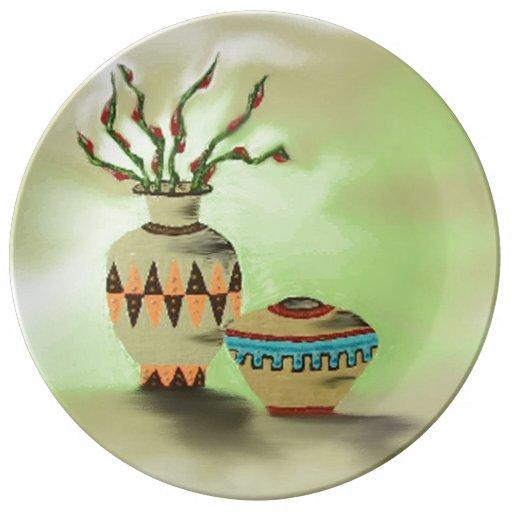 Southwestern Pottery Iv Porcelain Plate Zazzle