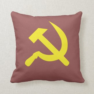 Soviet Throw Pillow