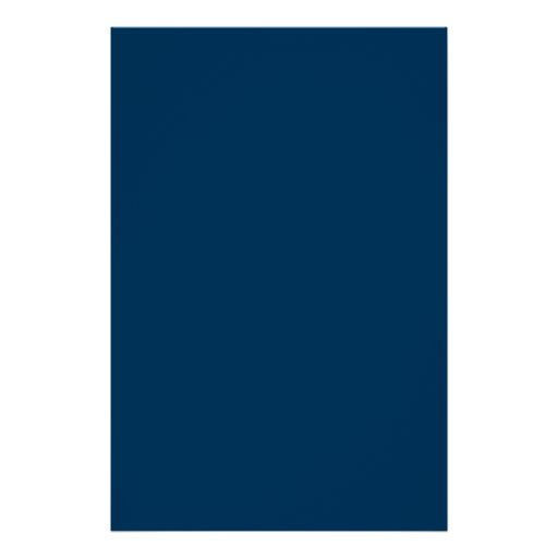 Navy Dark Blue Wandfarbe: Space Dark Navy Blue Solid Trend Color Background Poster