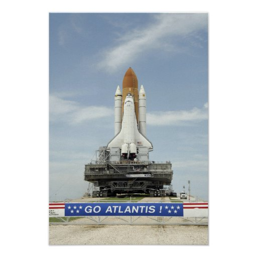 space shuttle atlantis poster - photo #14