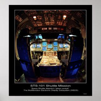 space shuttle cockpit poster - photo #6