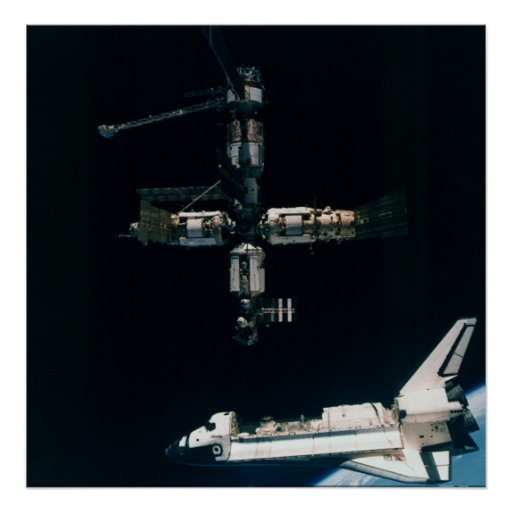 space shuttle atlantis poster - photo #3