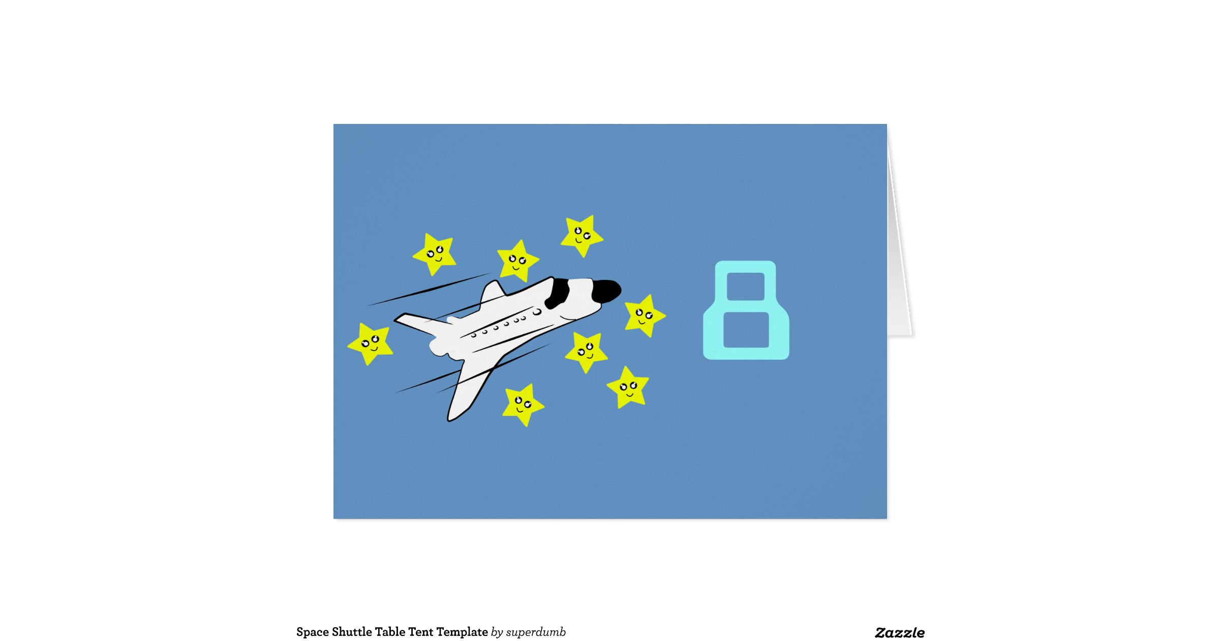 space_shuttle_table_tent_template_greeting_card rgrEcHNK