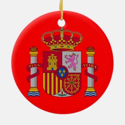 Spain* Custom Christmas Ornament Ornament | Zazzle