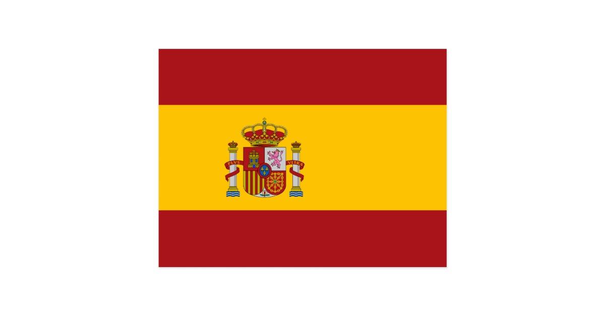 Spain National Flag Postcard | Zazzle