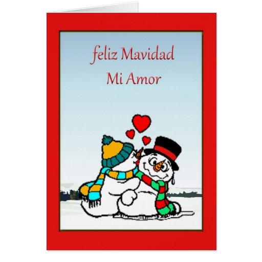 Spanish Christmas Card   Zazzle