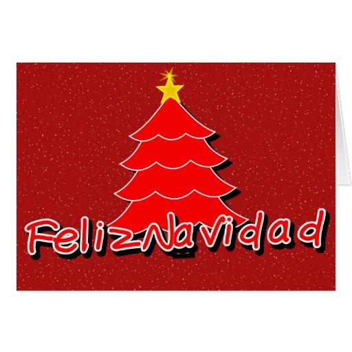 Spanish Christmas Greeting Card   Zazzle
