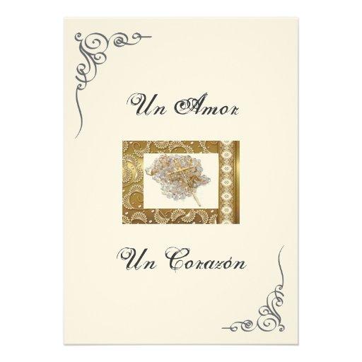 """Spanish Wedding Invitations: Spanish Wedding Invitation """"Wedding Lasso"""""""