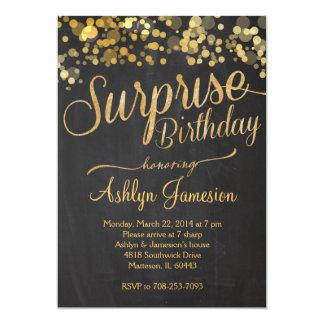 Surprise Adult Birthday Invitations 21