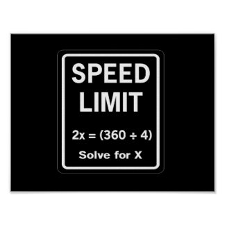 Funny Math Posters Zazzle