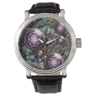 Steampunk and Gears Artful Oasis Fashion Watch