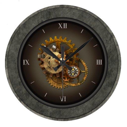 Steampunk Clocks Amp Cogs Zazzle