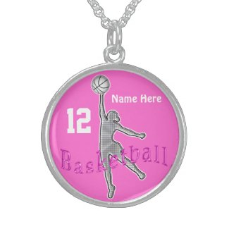 Sterling Silver Basketball Jewelry for Girls